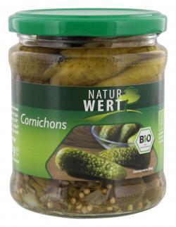 NaturWert Bio Cornichons (190 g) - 4009309114605