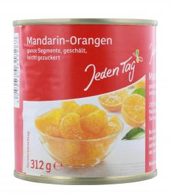 Jeden Tag Mandarin-Orangen