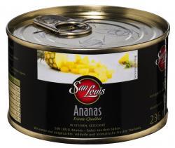 San Louis Ananas in Stücken gezuckert (137 g) - 4000493158307