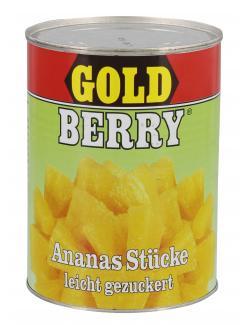 Gold Berry Ananas Stücke leicht gezuckert (340 g) - 4000493138309