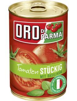 Oro di Parma Tomaten stückig mit Basilikum