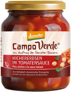 Campo Verde Demeter Kichererbsen in Tomatensoße