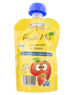 Basic Frucht Mix Apfel Heidelbeere Erdbeere Banane