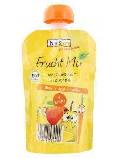 Basic Frucht Mix Birne Apfel Banane + Karotte (100 g) - 4032914534490