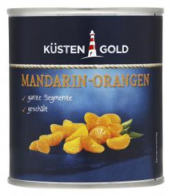 Küstengold Mandarin-Orangen