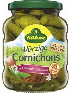 Kühne Cornichons mit Bärlauch & Schalotten