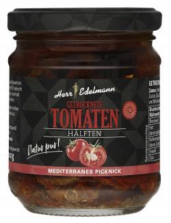 Herr Edelmann Getrocknete Tomaten Hälften