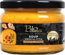 Rinatura Bio Foodie Lifestyle Soup Oriental Style Karotte-Ingwer