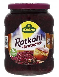 Kühne Rotkohl mit Bratapfel