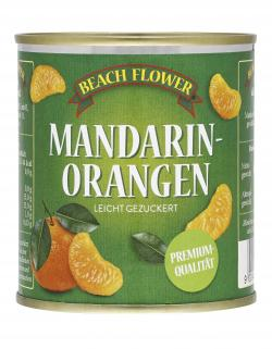 Beach Flower Mandarin Orangen