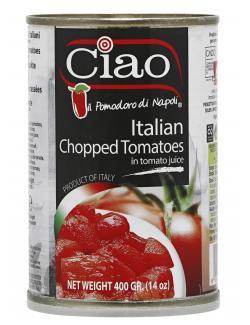 Ciao Italienische gehackte Tomaten
