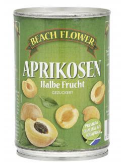 Beach Flower Aprikosen Halbe Frucht