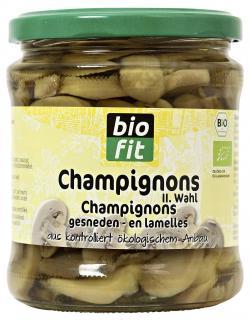 Biofit Champignons II. Wahl geschnitten