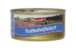 Müller's Truthahnfleisch im eigenen Saft