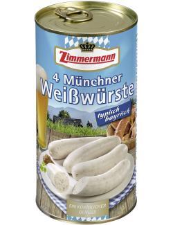 Zimmermann 4 Münchner Weißwürste