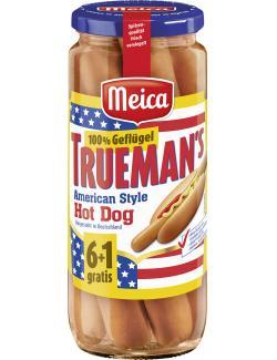 Meica Trueman's American Style Hot Dog Geflügel