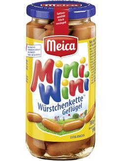 Meica Mini Wini Würstchenkette Geflügel (190 g) - 4000503148403
