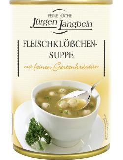 Jürgen Langbein Fleischklößchen-Suppe