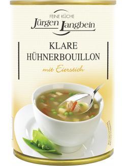 Jürgen Langbein Klare Hühnerbouillon