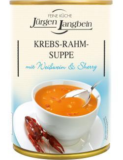 Jürgen Langbein Krebs-Rahm-Suppe