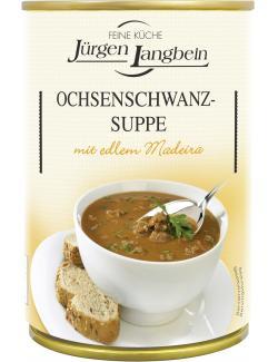 Jürgen Langbein Ochsenschwanz-Suppe (400 ml) - 4007680104291