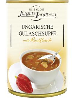 Jürgen Langbein Ungarische Gulaschsuppe