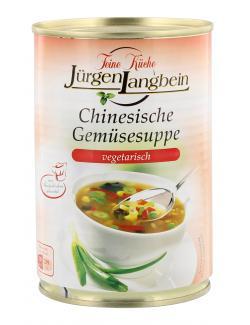 Jürgen Langbein Chinesische Gemüsesuppe