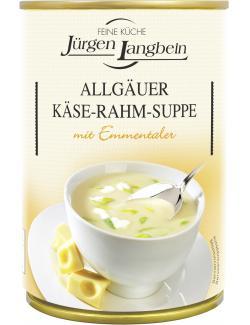Jürgen Langbein Allgäuer Käse-Rahm-Suppe
