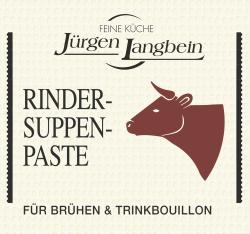 Jürgen Langbein Rinder-Suppen-Paste (50 g) - 4007680100057