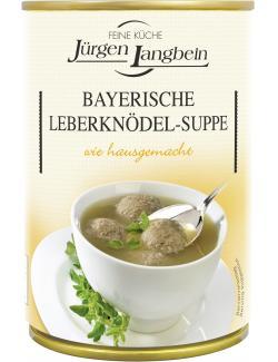 Jürgen Langbein Bayerische Leberknödel-Suppe