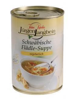 Jürgen Langbein Schwäbische Flädle-Suppe (400 ml) - 4007680106370