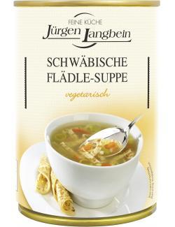 Jürgen Langbein Schwäbische Flädle-Suppe