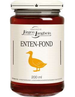 Jürgen Langbein Enten-Fond (200 ml) - 4007680105182