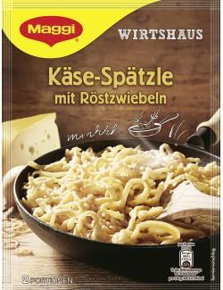 Maggi Wirtshaus Käse-Spätzle, Beutel, ergibt 2 Port. (125 g) - 4005500345930