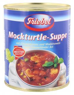 Friebel Mockturtle-Suppe (800 g) - 4017671140504