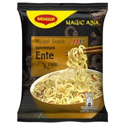 Maggi Magic Asia Nudel Snack Ente (65 g) - 9556001100122