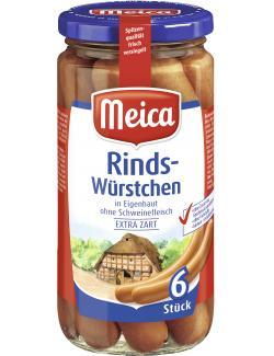 Meica Rindswürstchen (6 x 30 g) - 4000503148205
