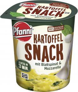 Pfanni Kartoffel Snack mit Spinat & Mozzarella
