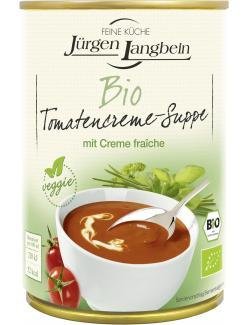 Jürgen Langbein Bio Tomatencreme-Suppe