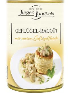 Jürgen Langbein Geflügel-Ragoût