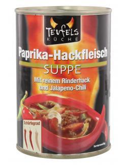 Teufels Küche Paprika-Hackfleisch Suppe (390 ml) - 4008002551038