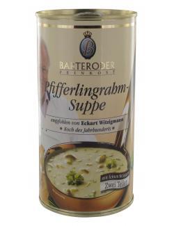 Barteroder Feinkost Pfifferlingrahm-Suppe (530 ml) - 4008002531542