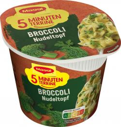 Maggi 5 Minuten Terrine Broccoli Nudeltopf