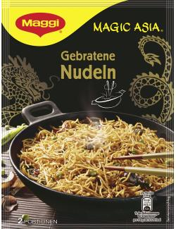 Maggi Magic Asia Gebratene Nudeln Gemüse, Beutel, 2 Port. (124 g) - 4005500050193
