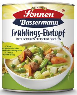 Sonnen Bassermann Mein Frühlingstopf mit leckeren Fleischklößchen (800 g) - 4002473961358