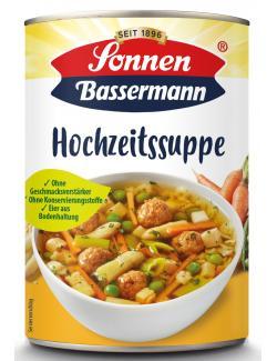 Sonnen Bassermann Hochzeits Suppe