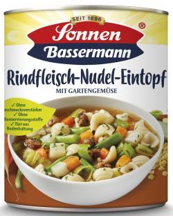 Sonnen Bassermann Rindfleisch Nudel-Eintopf
