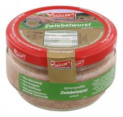 Müller's Hausmacher Wurst Zwiebelwurst gekocht (160 g) - 40354057