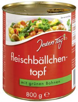 Jeden Tag Fleischbällchentopf mit grünen Bohnen (800 g) - 4306188057024