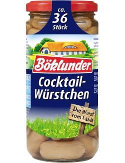 Böklunder Cocktail-Würstchen in Eigenhaut (250 g) - 4000404016559